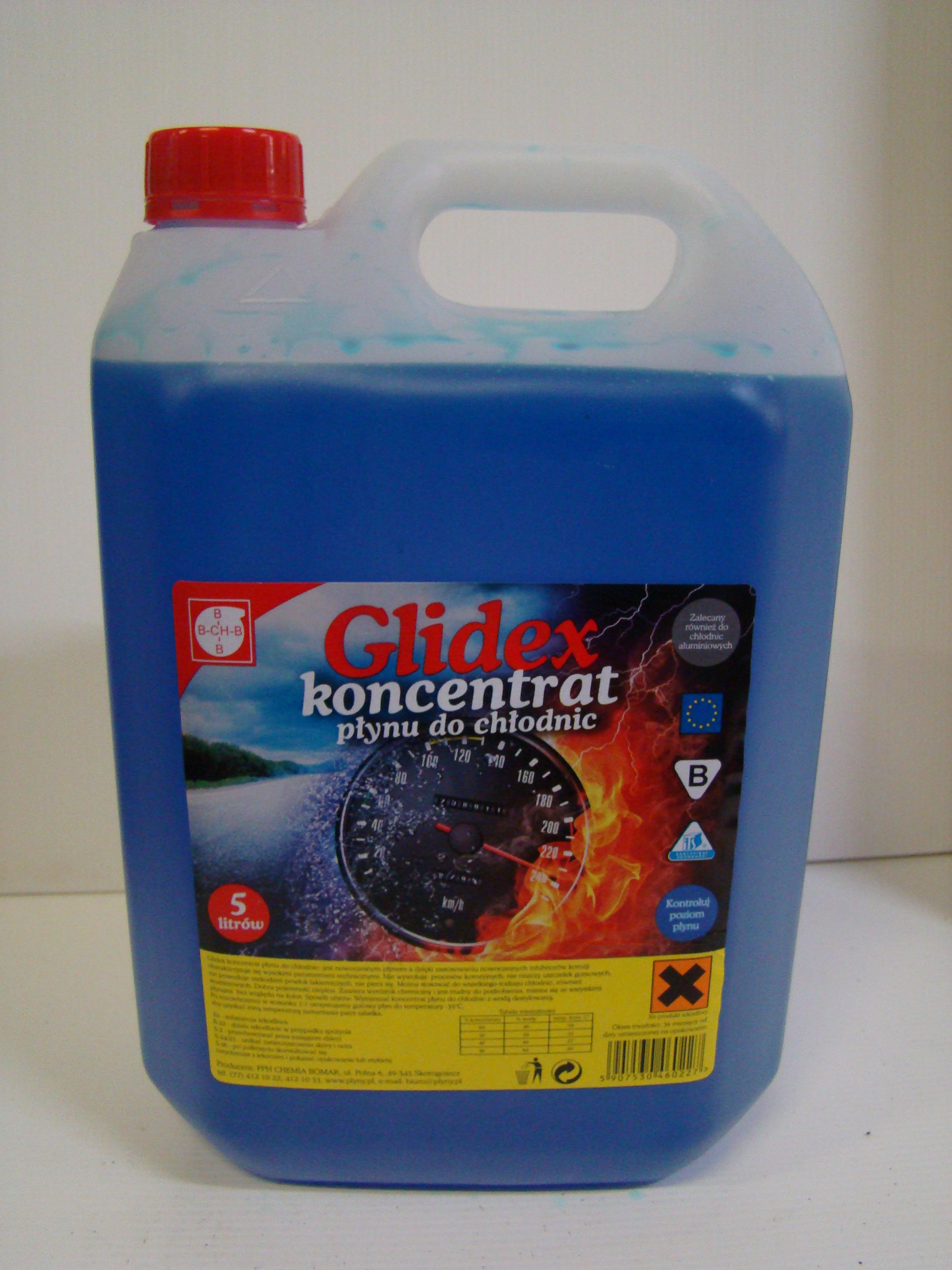 Płyn do chłodnic Glidex koncentrat